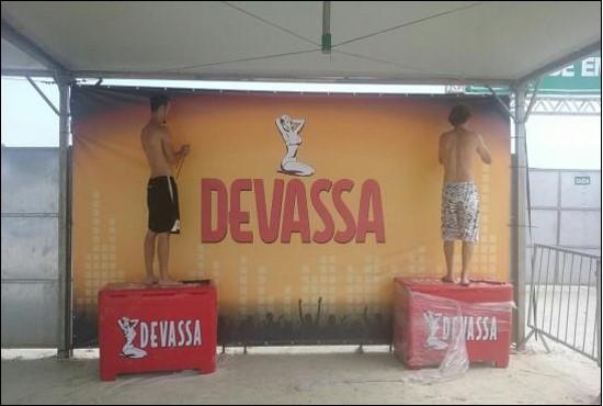 Praia Enseada Guarujá-Devassa