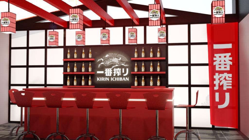 Restaurante Japonês Ativação Kirin Ichiban