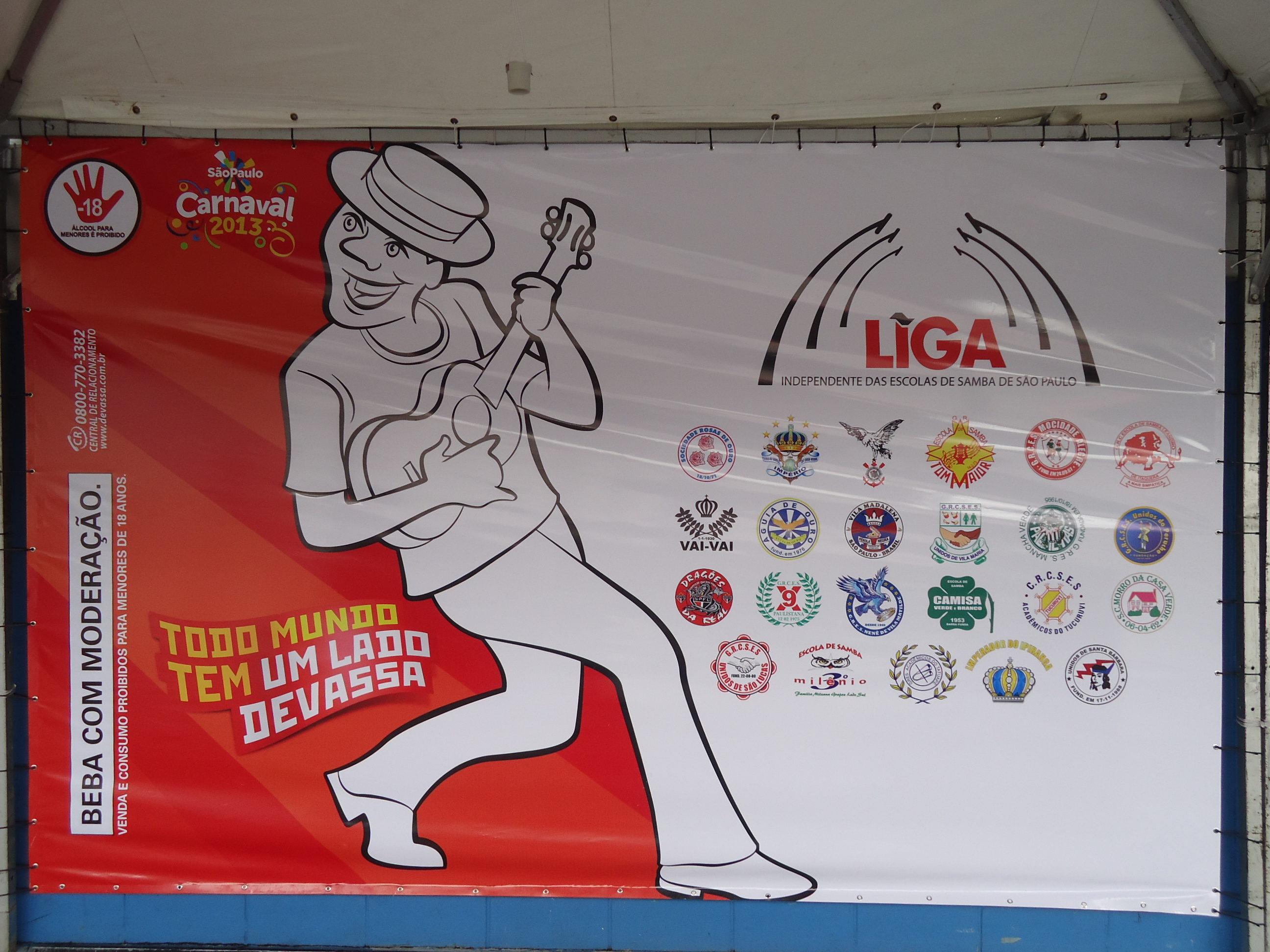 Liga das Escolas de Samba 2013
