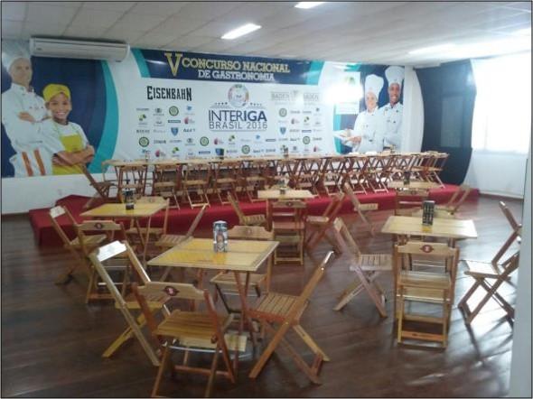 Concurso Nacional de Gastronomia - InterIGA - Brasil 2016