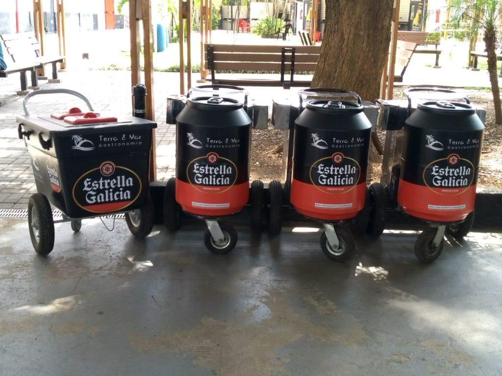 Personalização de Coolers para Estrella Galicia