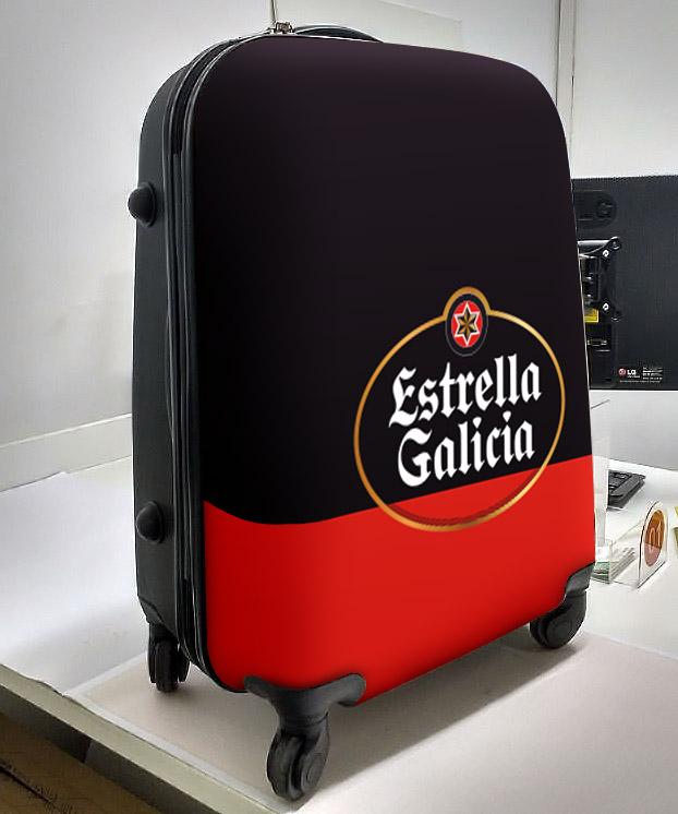 Mala personalizada para Estrella Galicia
