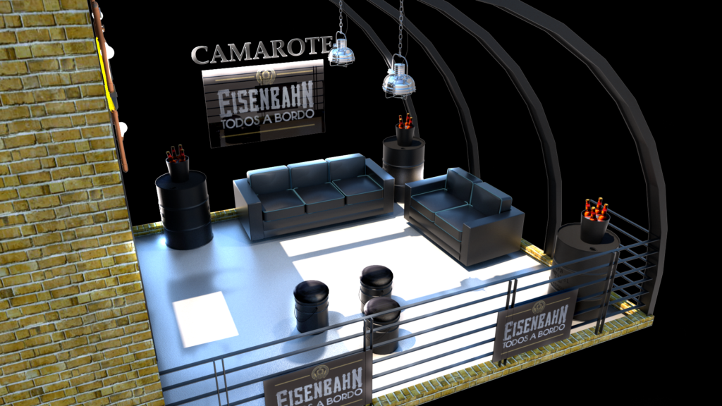 Projeto Camarote Eisenbahn